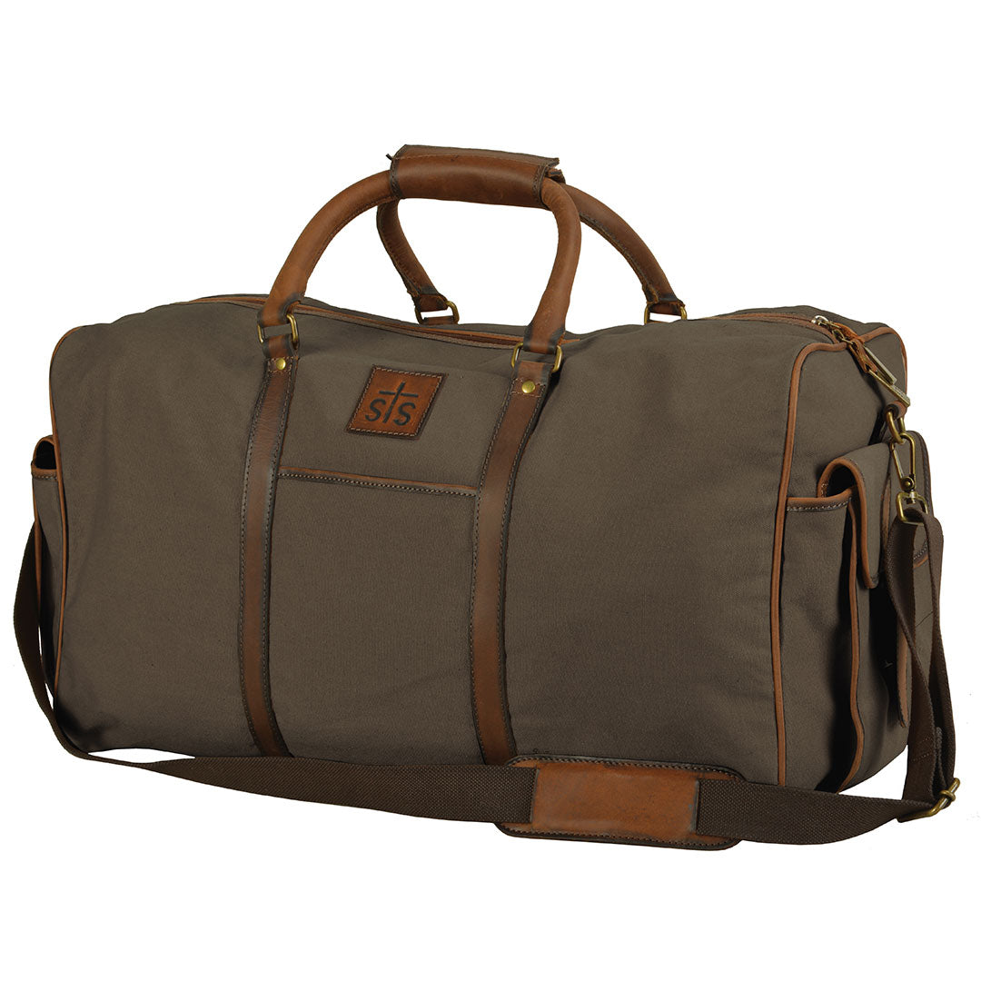 STS Ranchwear Foreman Dark Canvas Travel Bag