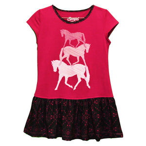 Cowgirl Hardware Horse Bandana Dress