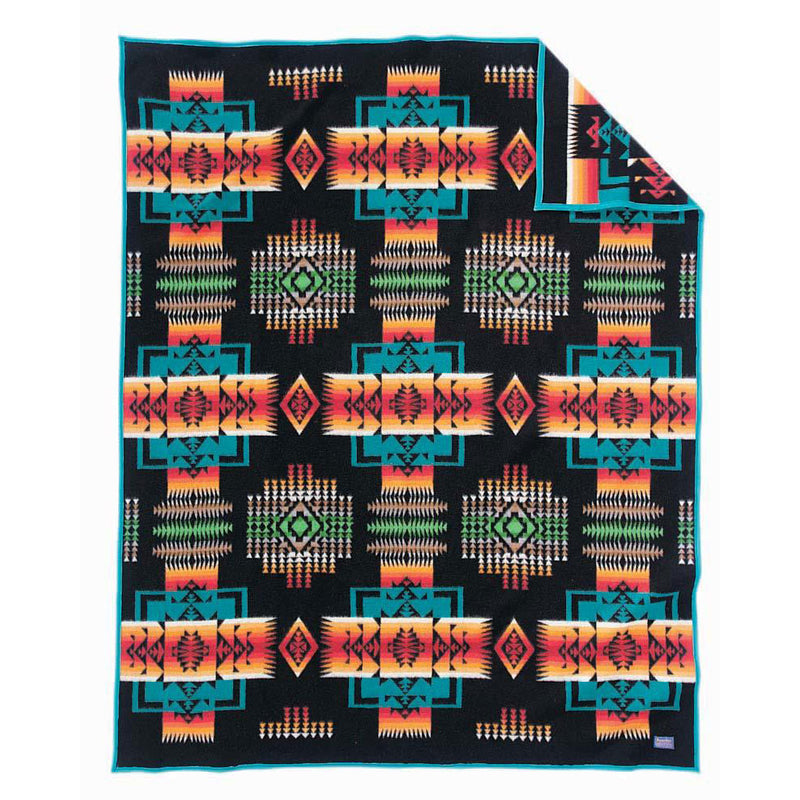 Pendleton Chief Joseph Black Blanket