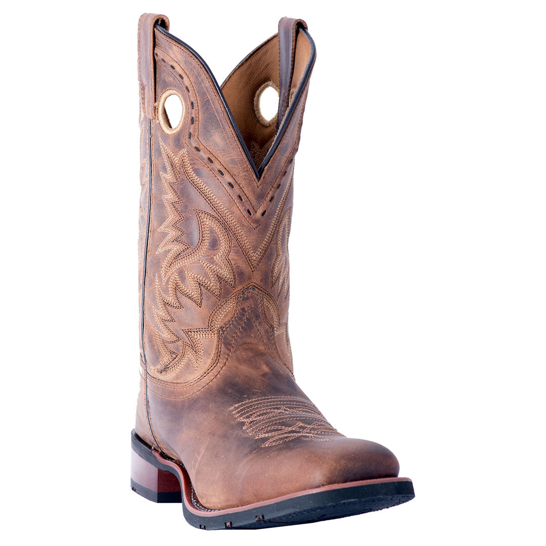 Laredo Kane Leather Brown Cowboy Boot