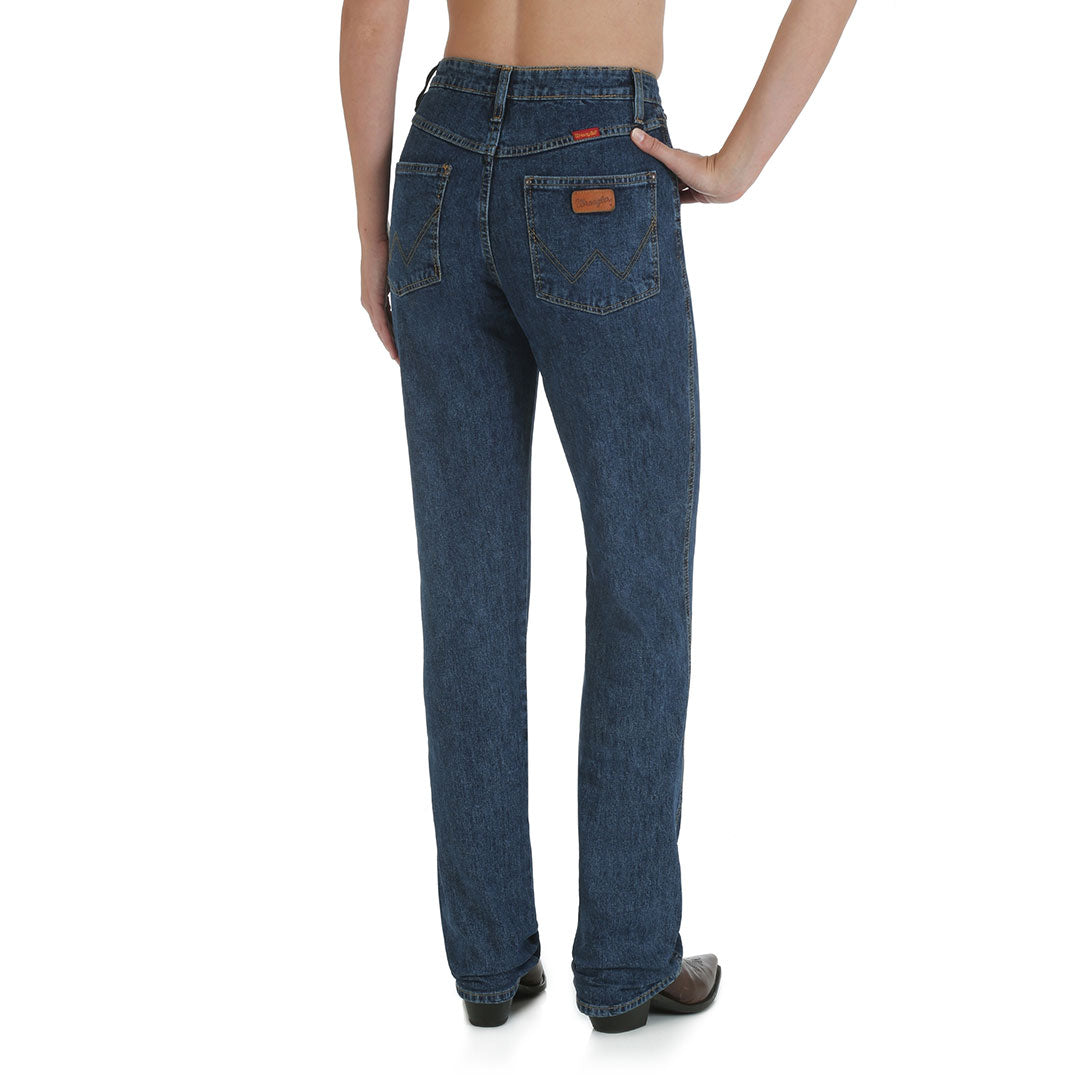 Wrangler Women's Cowboy Cut High Rise Jeans