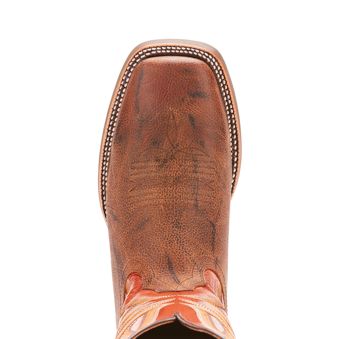 Ariat Range Boss Brown Cowboy Boots