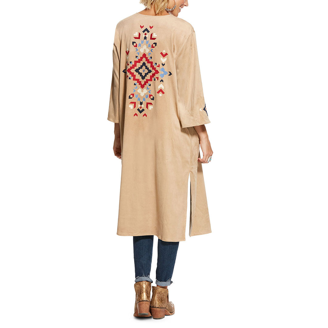 Ariat Desert Faux Suede Womens Duster