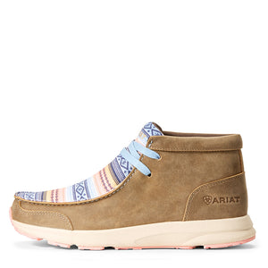 Ariat Spitfire Tan & Blue Serape Womens Shoe