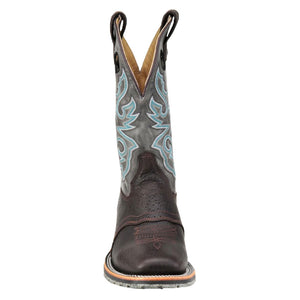 Double H Cool Grey Ice Roper Cowboy Boots