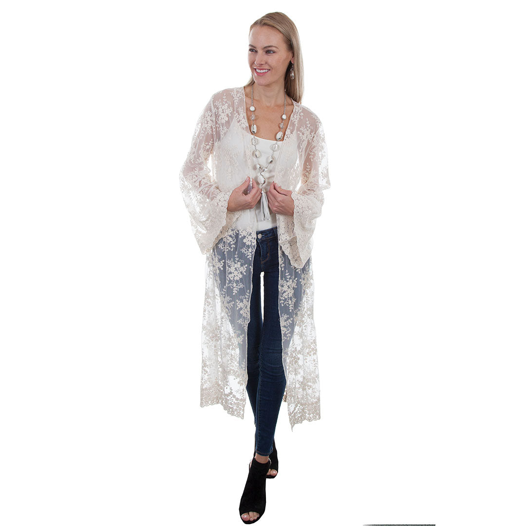 Scully Ivory Lace Duster