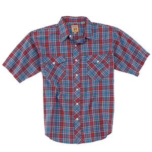 Resistol Yosemite Red & Blue Plaid Shirt