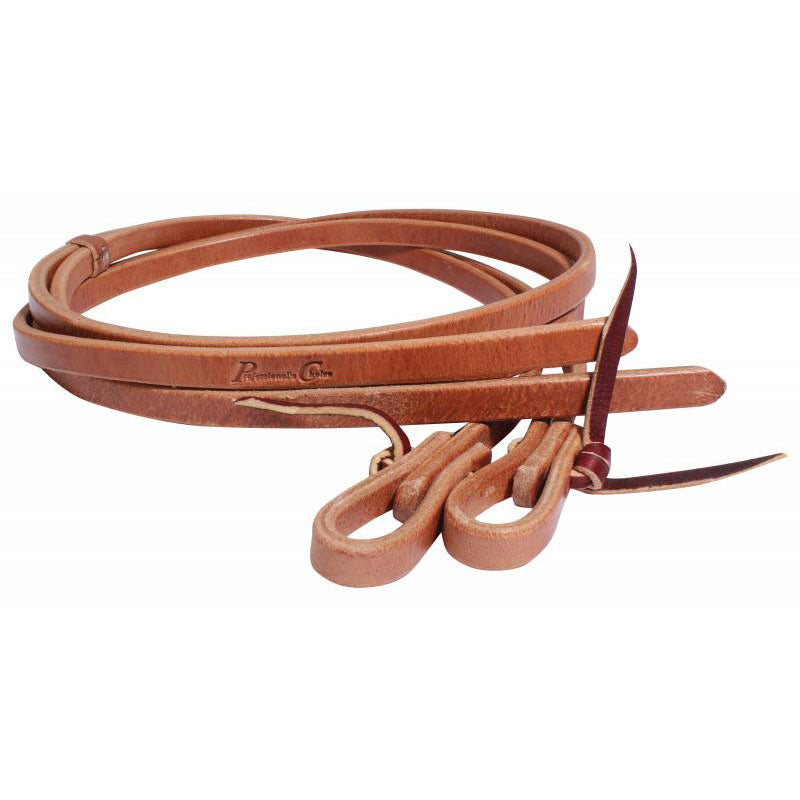 Hermann Oak Pony Leather Roping Reins