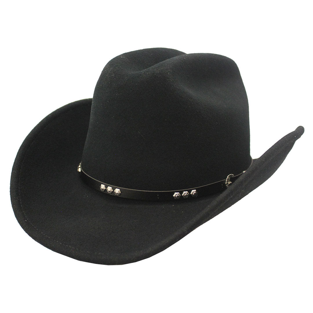 Wind River by Bailey Three D Crushable Felt Cowboy Hat
