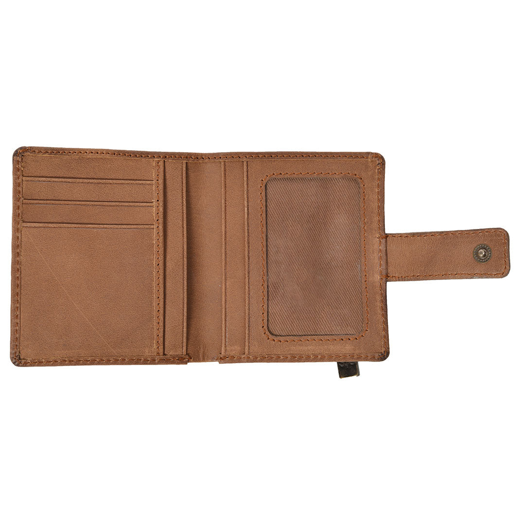STS Ranchwear Chaquita Distressed Leather Wallet