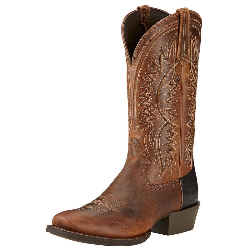 Ariat Men's Troubadour Square Toe Cowboy Boots