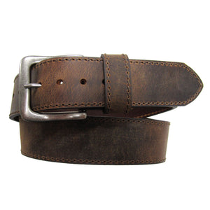 AndWest Wide Distressed Leather Belt
