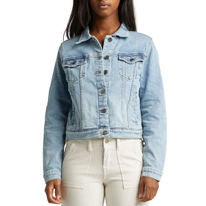 Silver Jeans Sedona Light Wash Denim Jacket