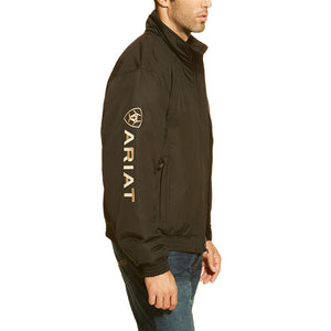 Ariat Team Logo Insulated Mens Black Jacket
