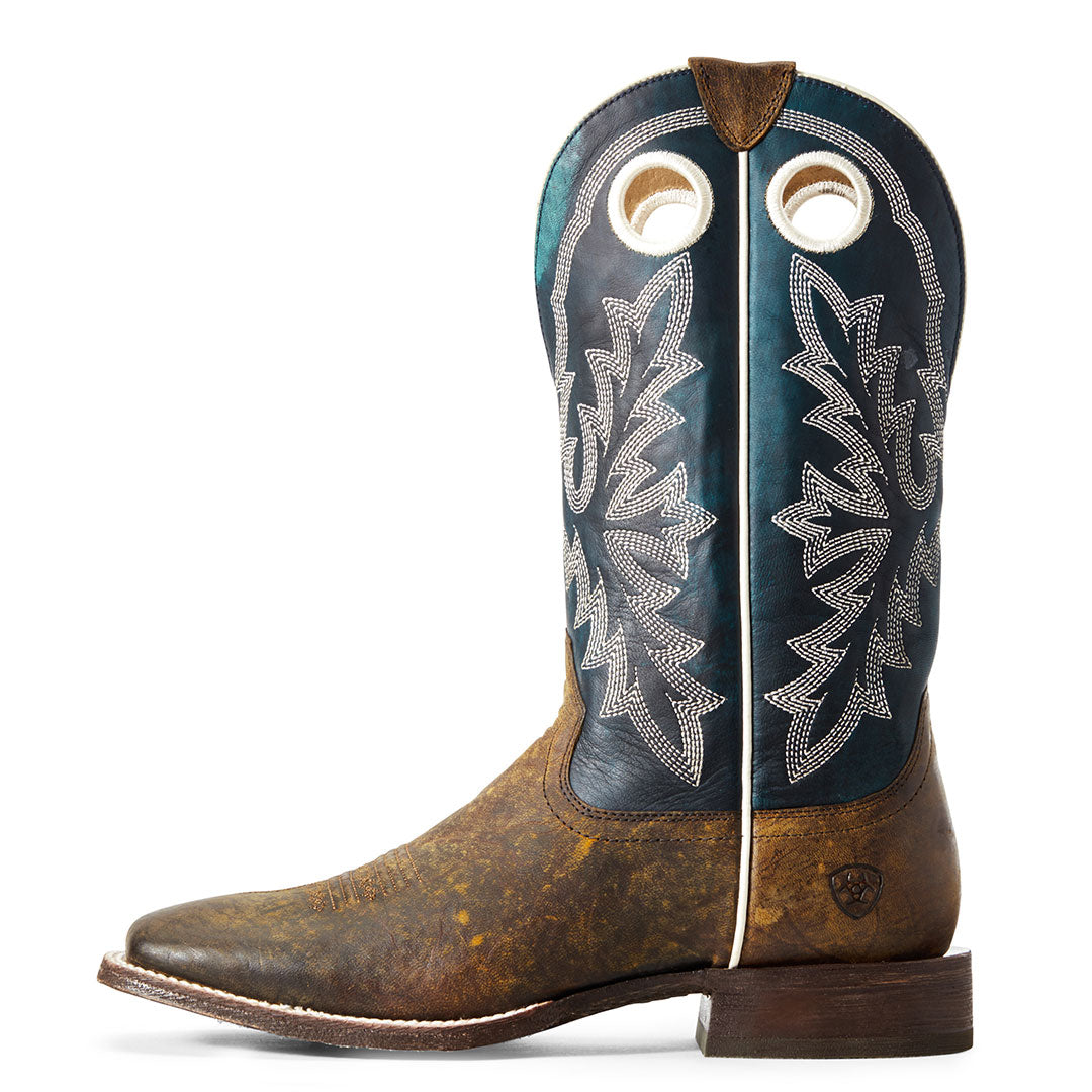 Ariat Circuit Champ Woodsmoke Cowboy Boot
