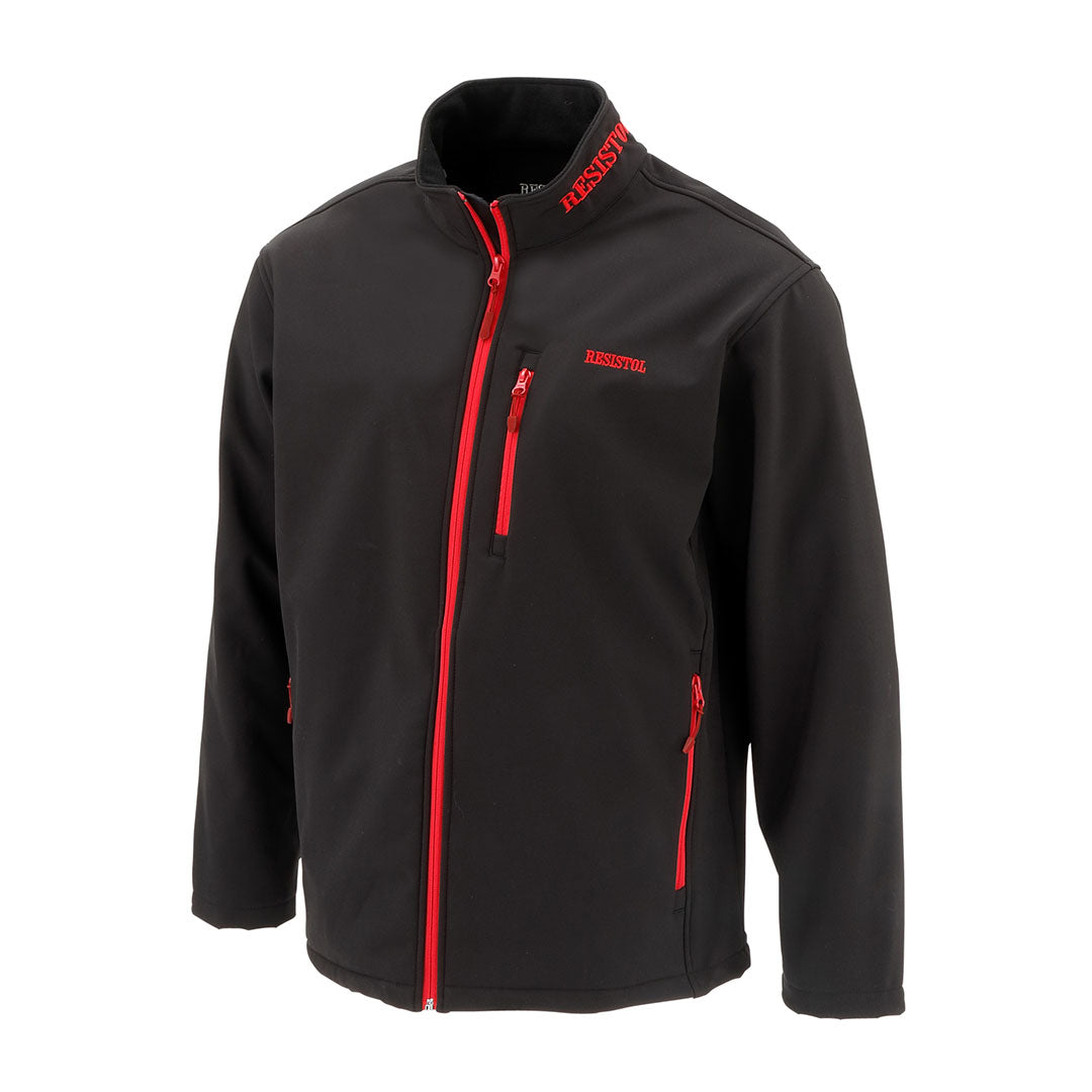 Resistol Black Softshell Marketing Mens Jacket