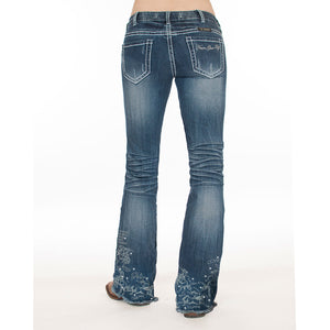 Cowgirl Tuff UnBeliveable 20 Medium Wash Womens Jean