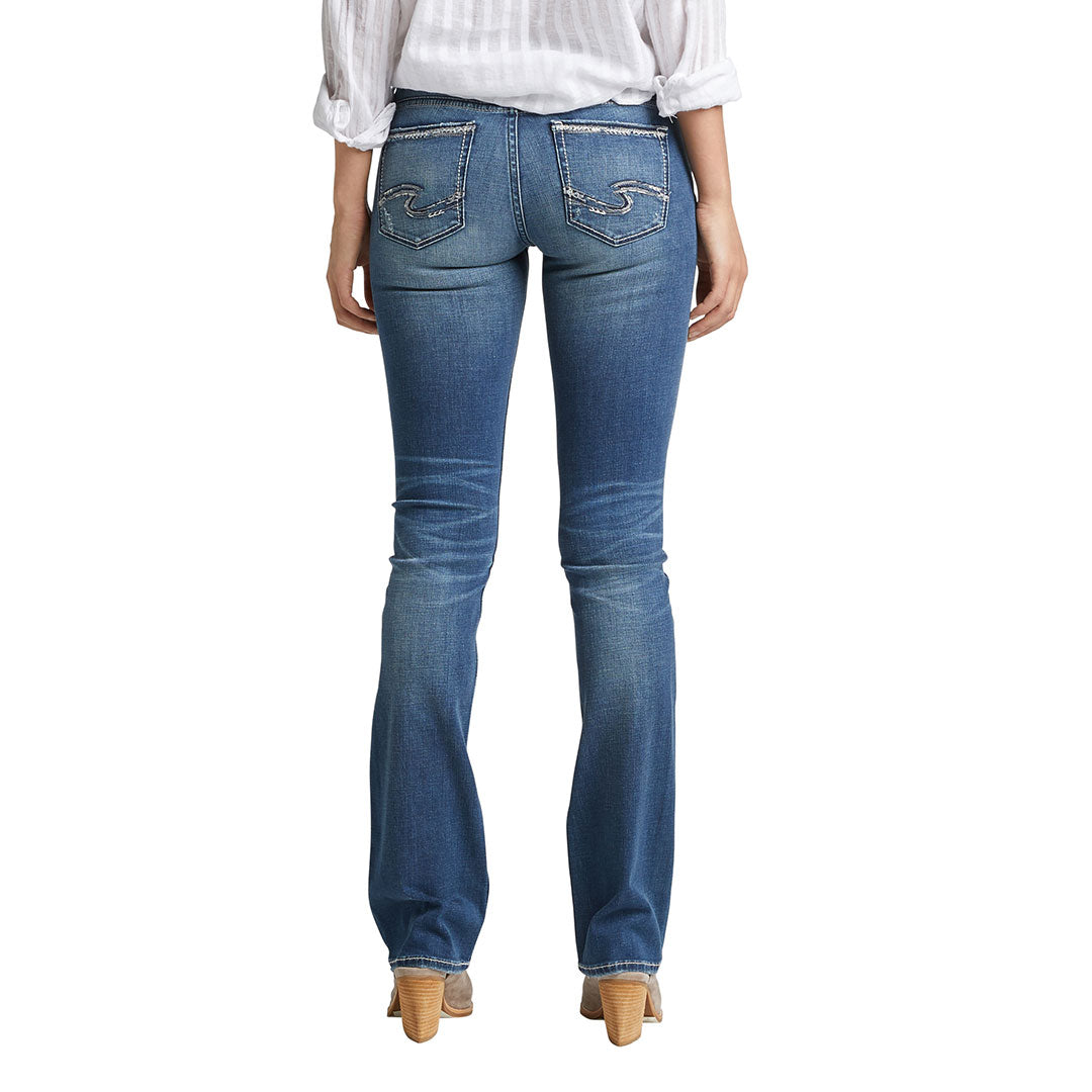 Silver Jeans Tuesday Low Rise Slim Boot Cut Jean