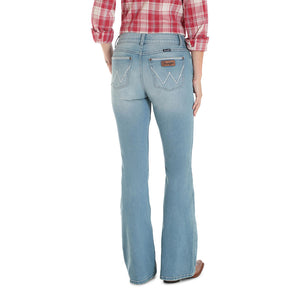 Wrangler® Retro® Mae Light Wash Flare Jean
