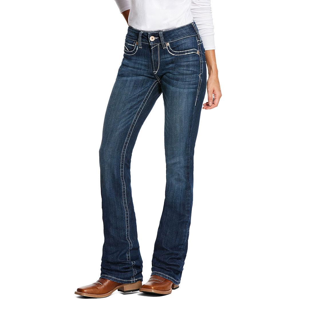 Ariat R.E.A.L. Navajo Baseball Boot Cut Penelope Womens Jean