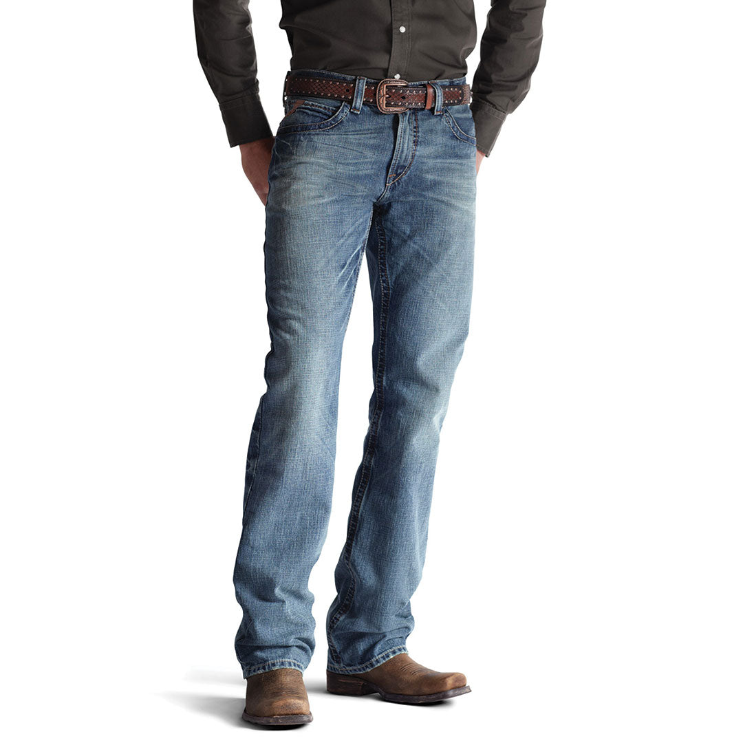Ariat M4 Scoundrel Low Rise Boot Cut Men's Jeans
