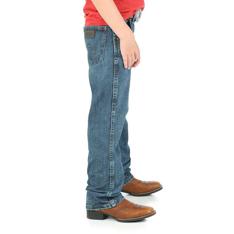 Wrangler Boy's Retro Relaxed Straight Leg Jeans