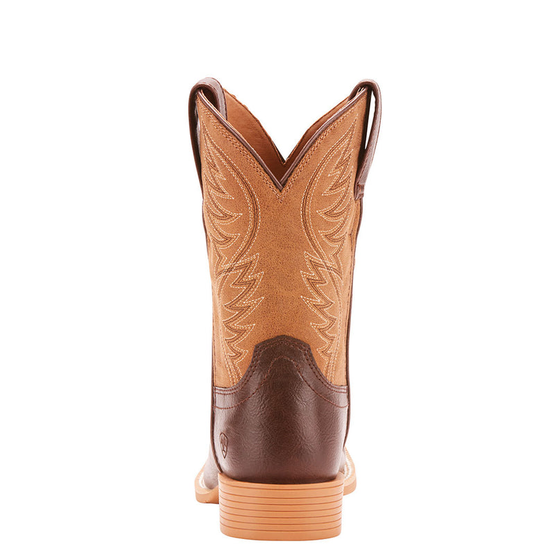 Ariat Kid's Brumby Square Toe Cowboy Boots