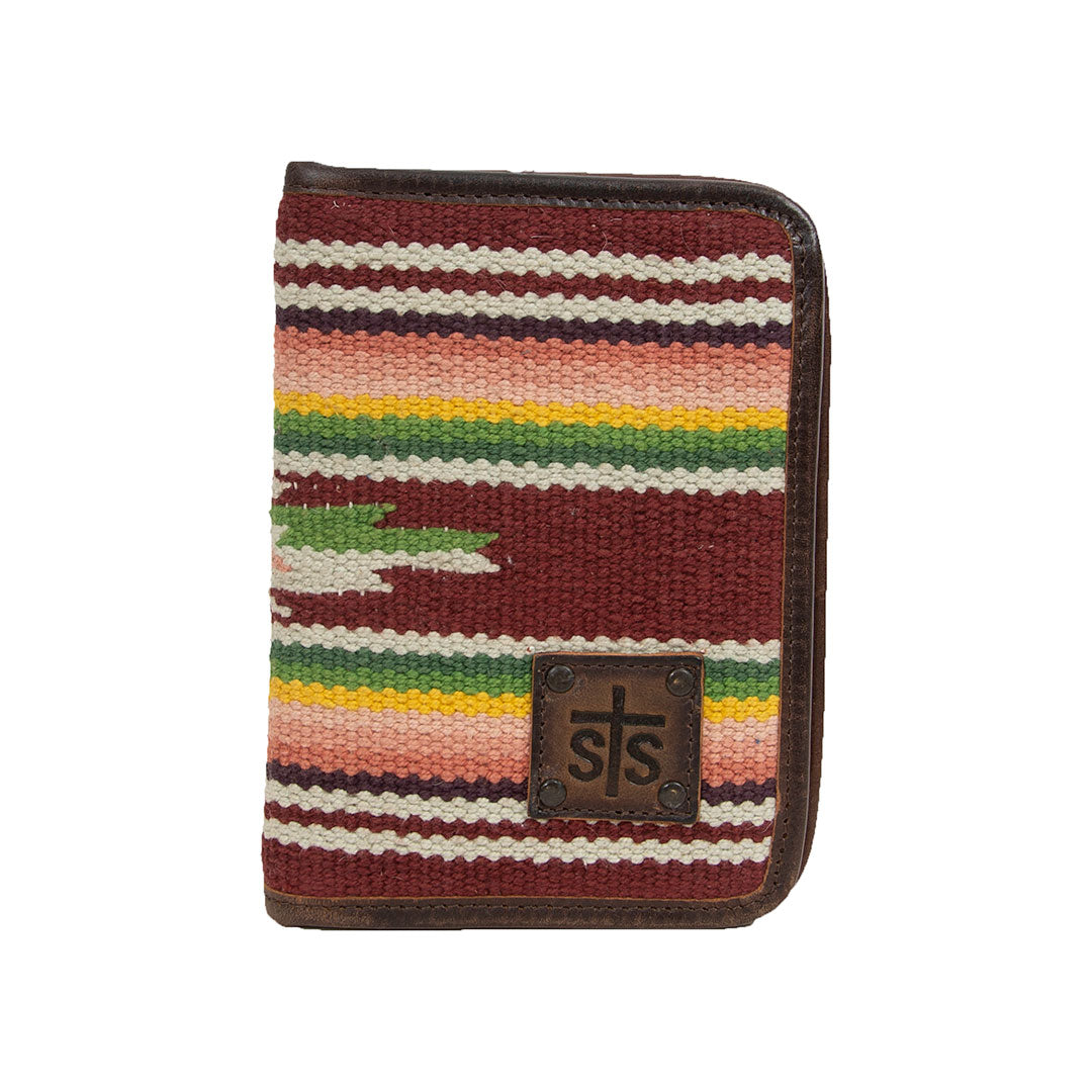 STS Ranchwear Buffalo Girl Magnetic Wallet