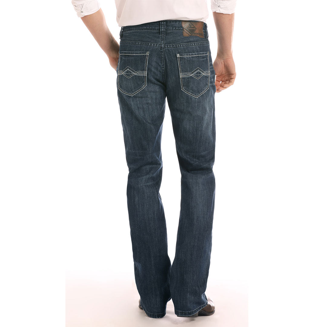 Rock & Roll Denim Double Barrel Straight Leg Jean