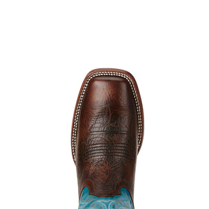 Ariat Cowtown Blue & Brown Cowboy Boot
