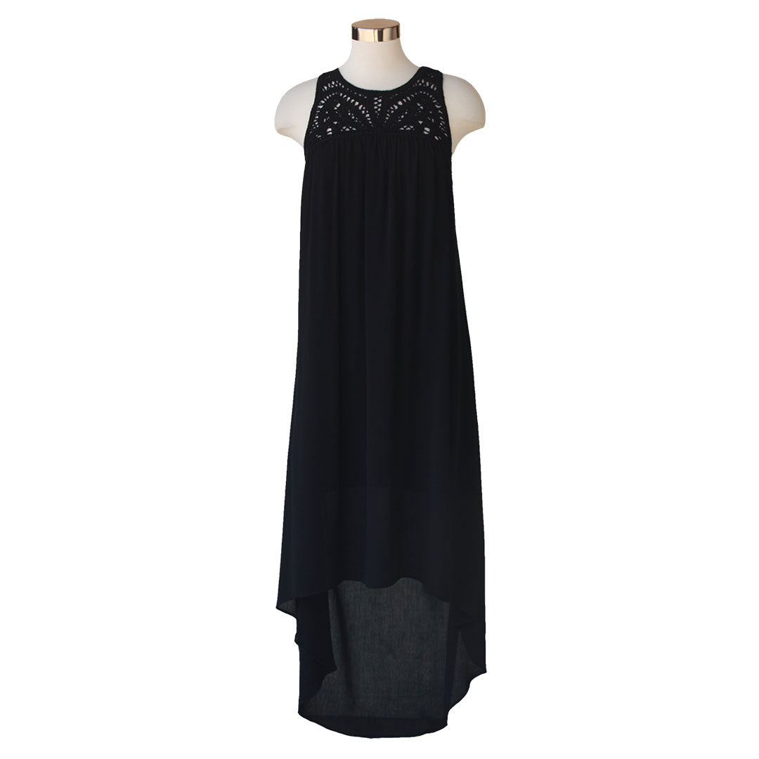 Keren Hart Long Black Dress