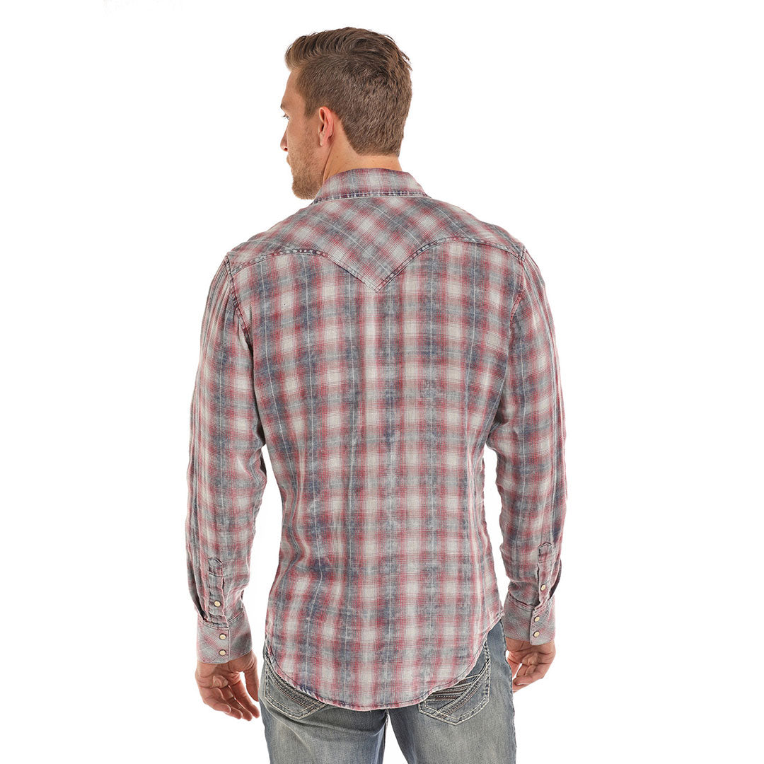 Rock & Roll Cowboy Vintage Plaid Shirt