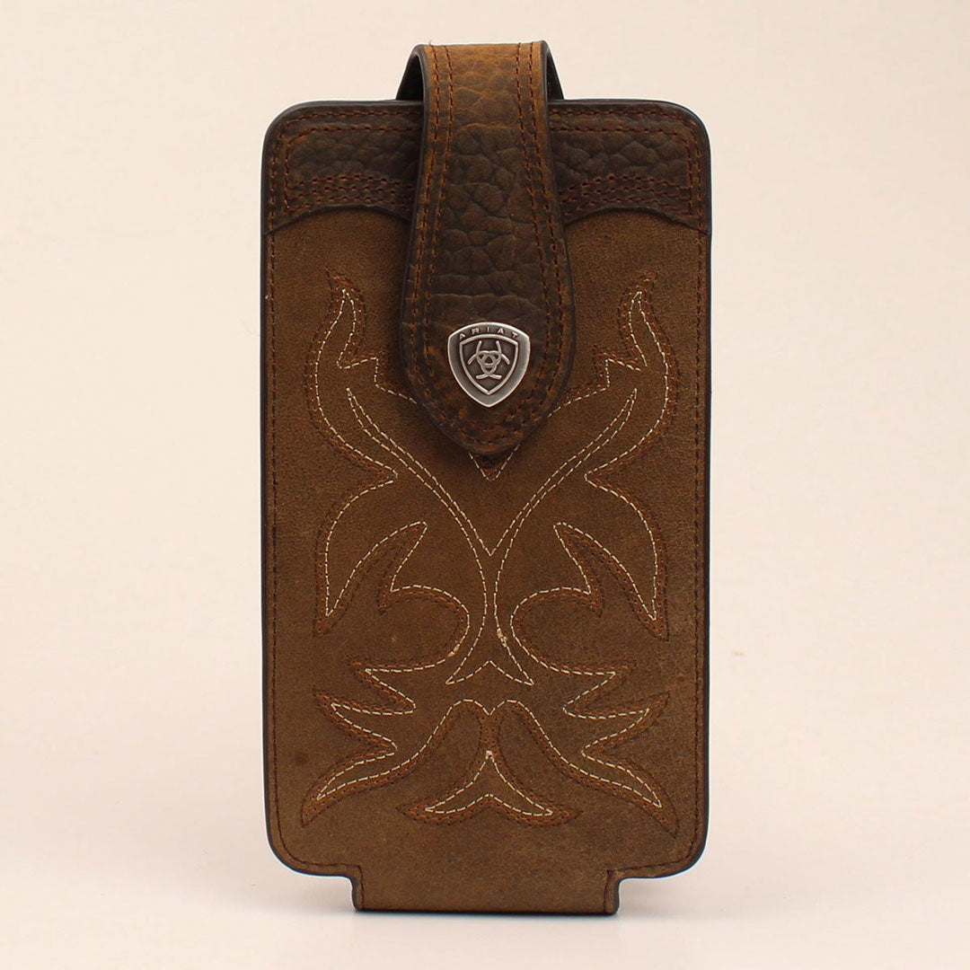 Ariat Brown Cell Phone Case