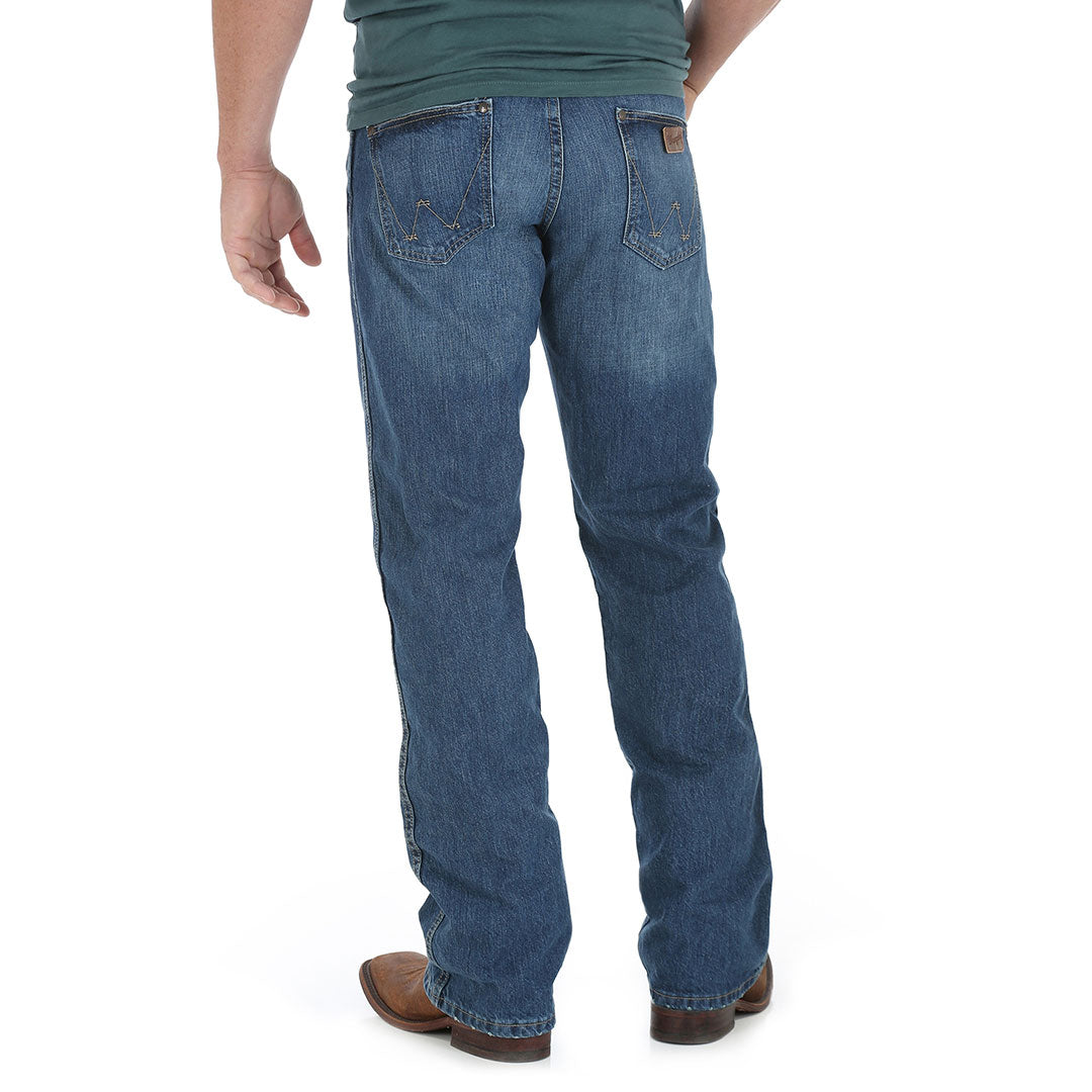 Wrangler Retro Relaxed Boot Cut True Blue Mens Jean
