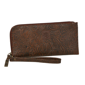 STS Ranchwear Floral Embossed Clutch