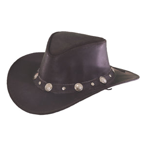 Outback Trading Co. Rawhide Leather Hat