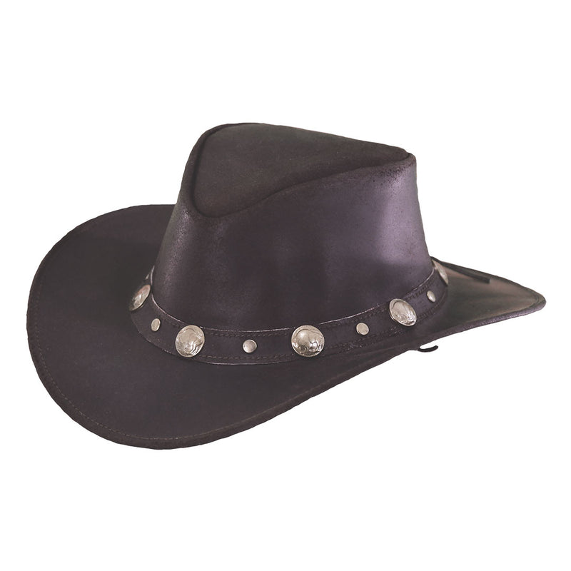 Outback Trading Co. Rawhide Western Leather Hat