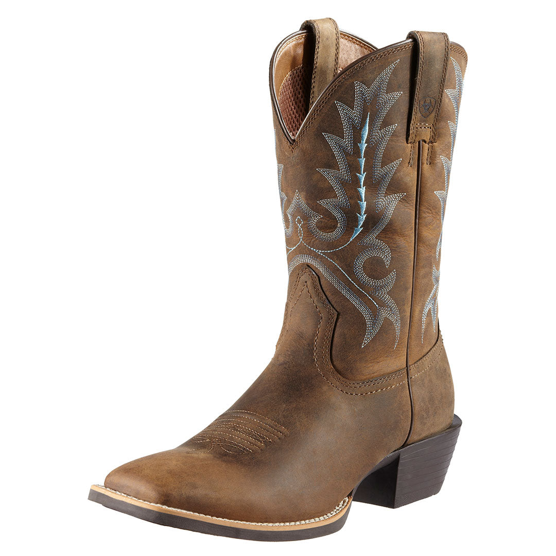 Ariat Sport Outfitter Distressed Cowboy Boots