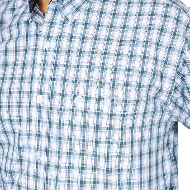 Wrangler Men's George Strait Plaid Shirt