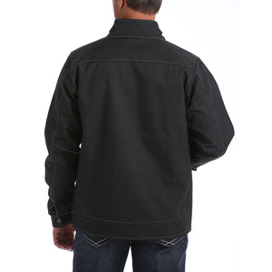 Cinch Textured Bonded Charcoal Mens Jacket