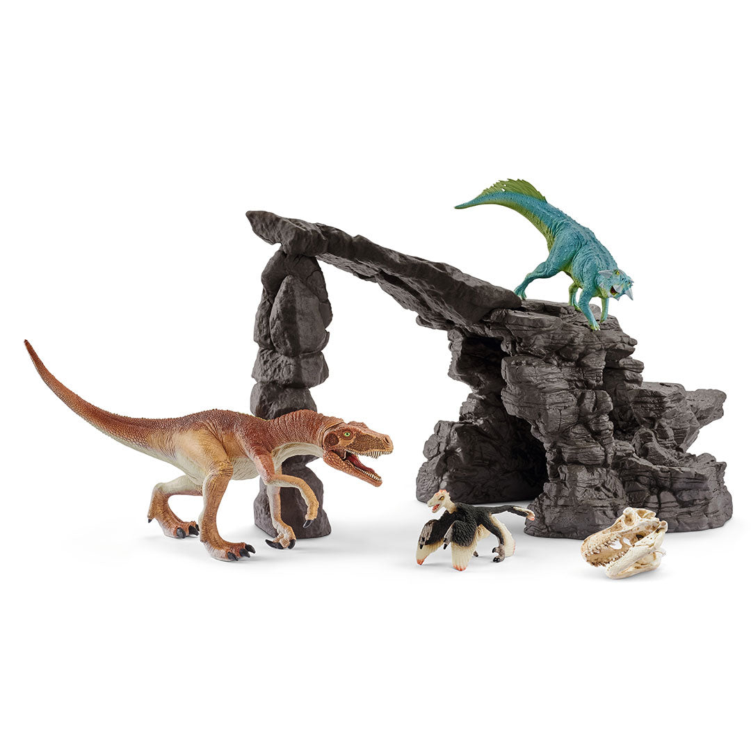 Schleich Dino & Cave Set Toy