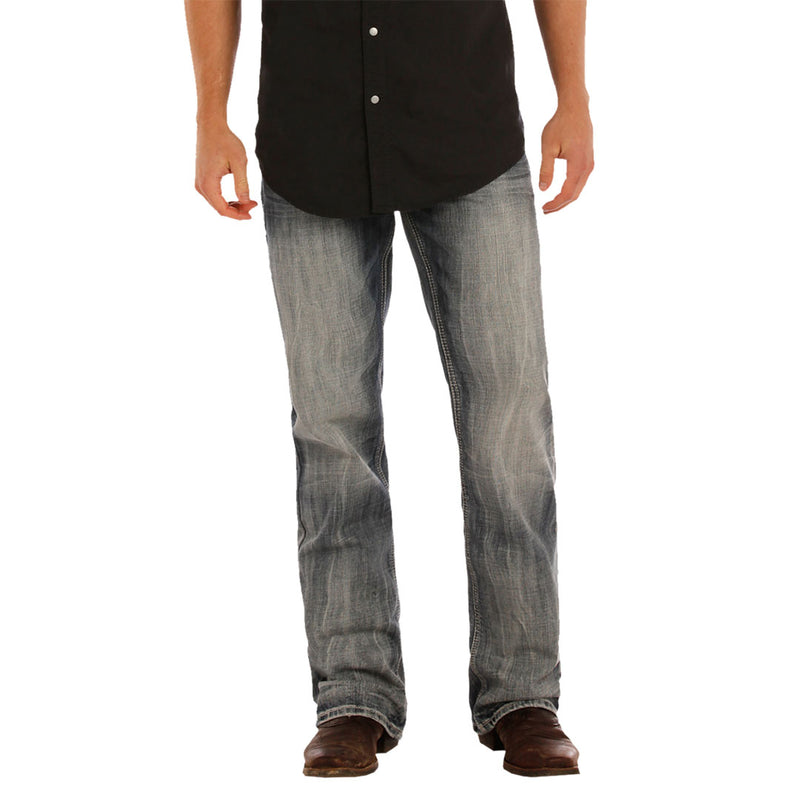 Rock & Roll Denim Men's Double Barrel Relax Jean