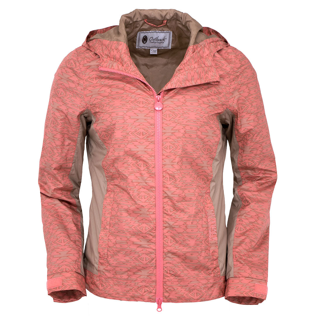 Outback Trading Co. Angela Coral Rain Jacket