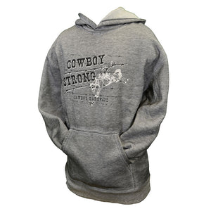 Cowboy Hardware Acid Wash Graphite Mens Pullover