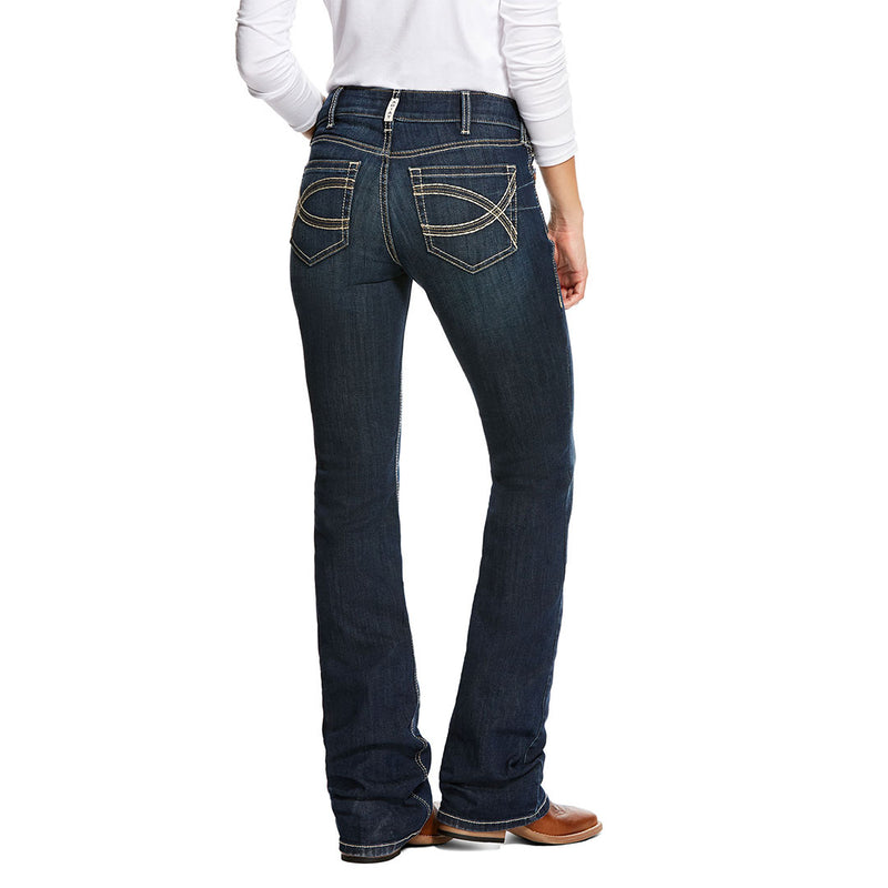 Ariat Women's R.E.A.L. Shayla Mid Rise Bootcut Jeans