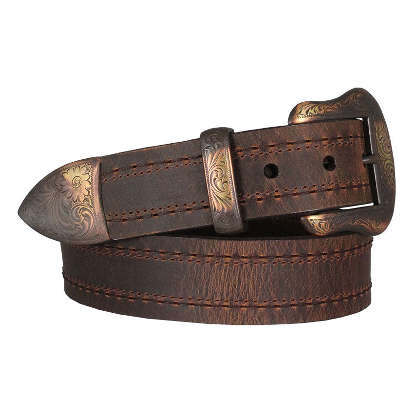 Lejon Texico Distressed Leather Men's Belt