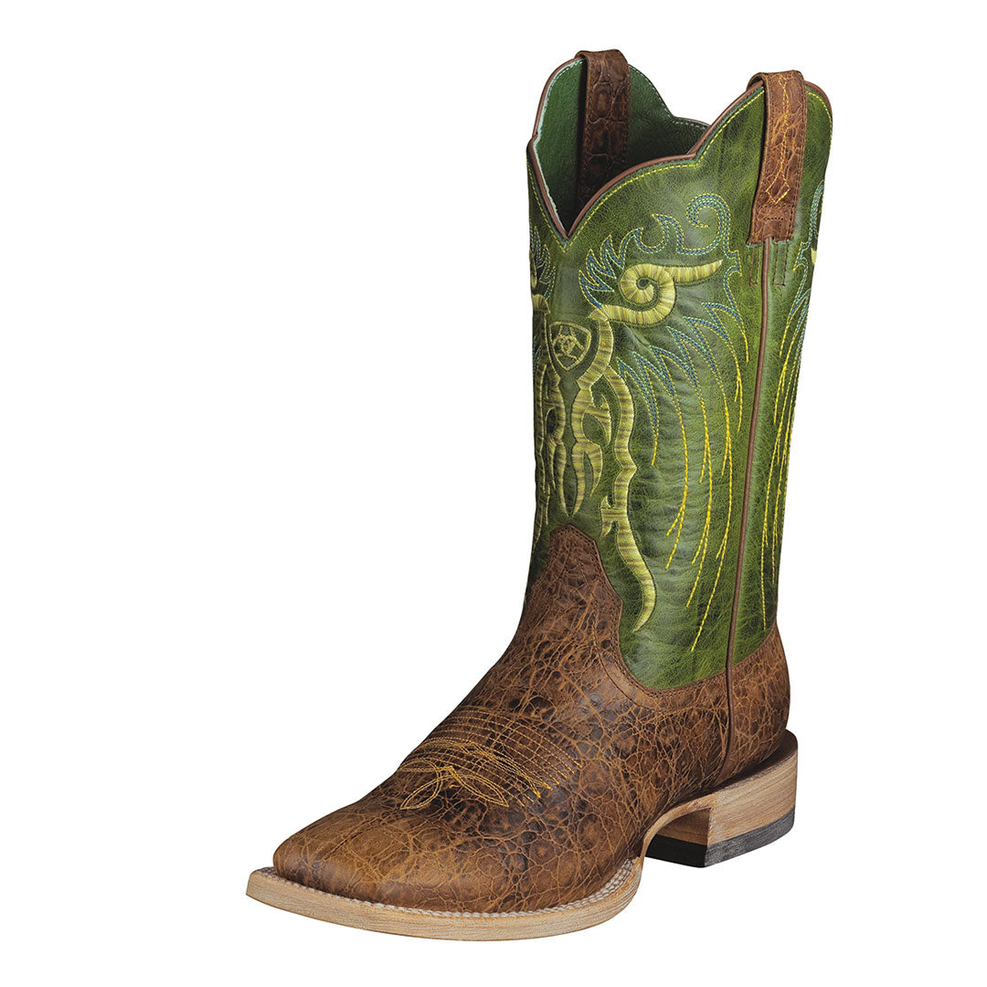 Ariat Mesteno Clay Lime Cowboy Boot