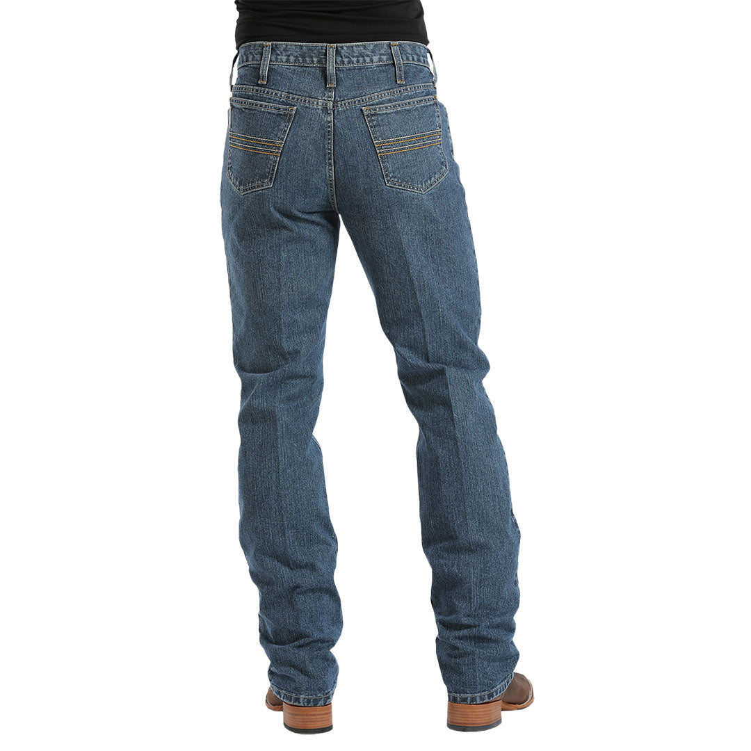 Cinch Silver Label Med Wash Slim Fit Jeans