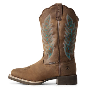 Ariat Hybrid Rancher H2O Oily Distressed Tan Cowgirl Boot
