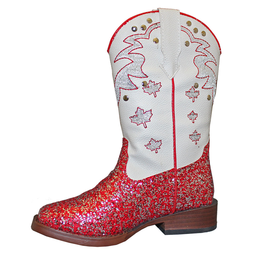 Roper by Karman Sparkly Canadian Kids Boots